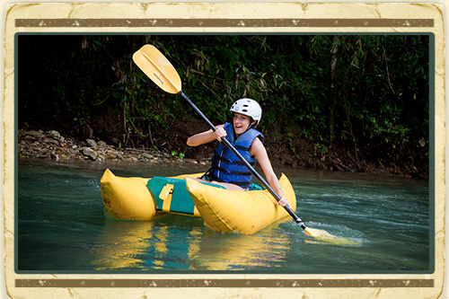 Zipline & River Kayak Adventure from Negril